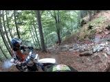 Enduro Kawasaki KMX 125! [Day 1] Go Pro full HD