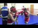 Тренировка в Кингисеппе по боксу ч 3