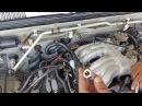 Как поменять свечи зажигания VG33E