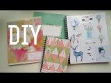 DIY: украшаем тетрадки и ежедневники своими руками