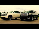 2015 GMC Yukon XL 4x4 6.2L DENALI VS 2015 CHEVROLET SUBURBAN LTZ 4x4 5.3L at Wilson County Motors