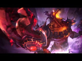Infernal Nasus | Login Screen - League of Legends