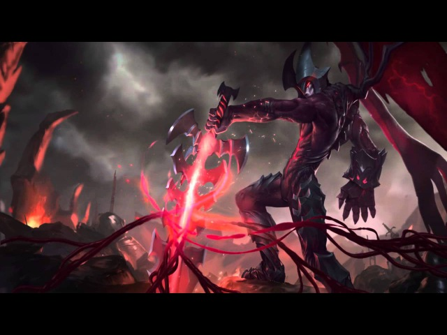 Aatrox, the Darkin Blade | Login Screen - League of Legends