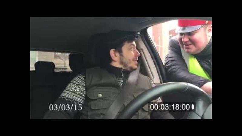 Таксист Русик vs ВИДЕО ЖЕТОН ГАИШНИКА.