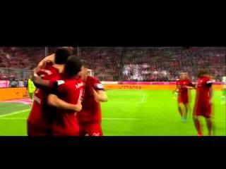 Роберт Левандовски 5 голов за 9 минут фантастика бундеслига 2015