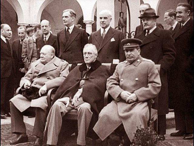 Ялтинский триумф Сталина Секретные материалы 2015
