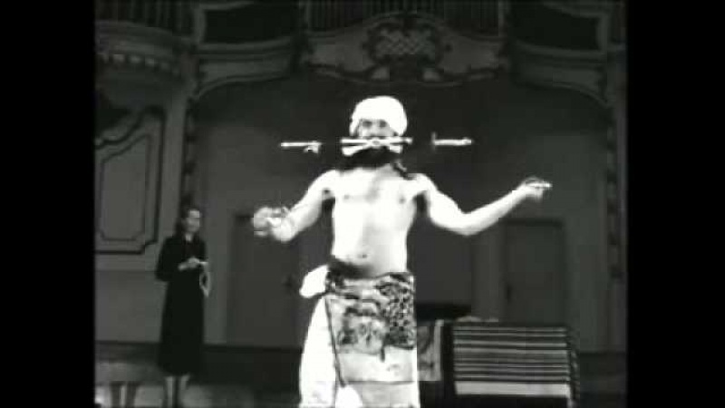 МАХАРИШИ СВАМИ ДЕВ МУРТИ цирк 1959 Хамбург wmv