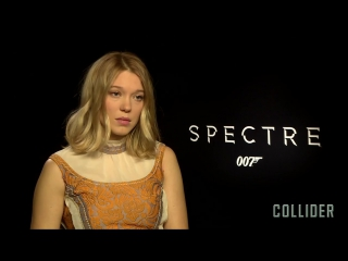 Lea seydoux on 'spectre' and being bond's equal