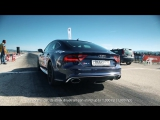 DT Test Drive  Audi RS7 stock vs tuned