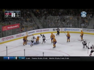 Coyotes_at_kings_game_highlights_11/10/15