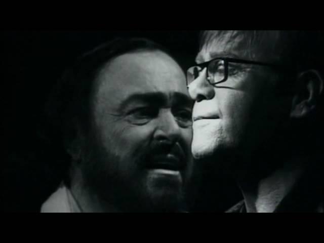 Elton John Luciano Pavarotti   Live Like Horses - Directed by Peter Demetris
