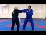 REAL AIKIDO - Sanja Vracarevic ( 6 Dan black belt ) Baku, 2014