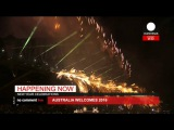 Новогодний салют в Сиднее 2016(Sydney New Years Eve Fireworks 2016)
