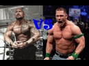 The Rock vs John Cena bodybuilding, gym motivation 2015