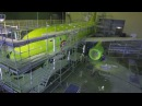 Aircraft Airbus A319 painting for S7 Airlines