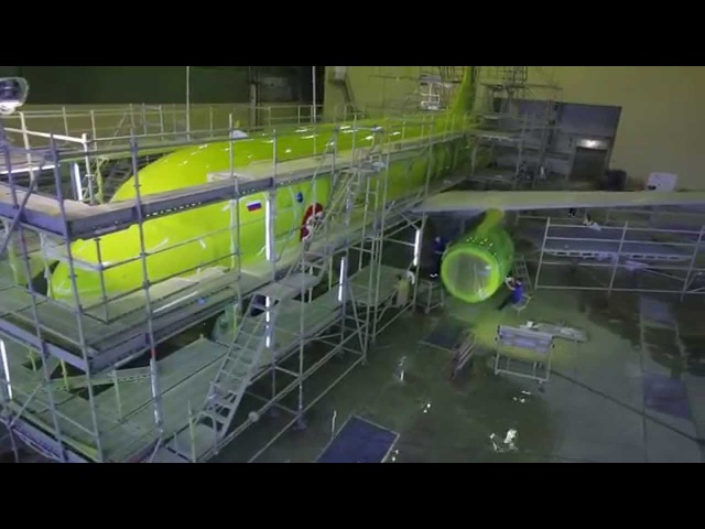 Aircraft painted by Holding Engineering - timelapse