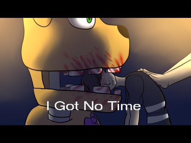 [FNAF ART] I Got No Time   RUS Cover\sub