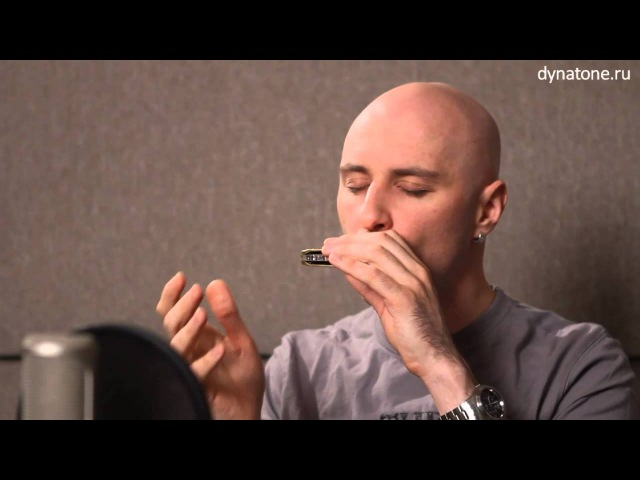 Видео урок по губной гармошке   Бенды и передувания