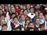 Детский хор России отличился в Кремле
