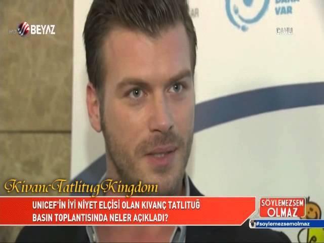 UNICEF Goodwill Ambassador, KıvançTatlıtuğ _ reportage(Söylemezsem Olmaz)14 .12. 2015