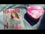 ВЯЗАНИЕ. Кофточка для моей малышки + ОБЗОР журнала Burda creazion 1|2015