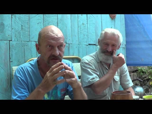 С Лесниченко хранитель горы Бойка необычные находки 1-2 экспедиция Глобальная Волна Крым 2015