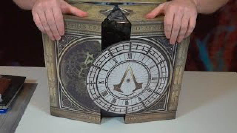 Assassin's Creed Syndicate: Big Ben Case — Распаковка коллекционного издания «Биг-Бен»