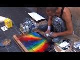 Удивительный уличный художник в Риме