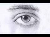 Как рисовать ГЛАЗ карандашом. Урок 57. How to Draw a Realistic Eye. Lesson 57