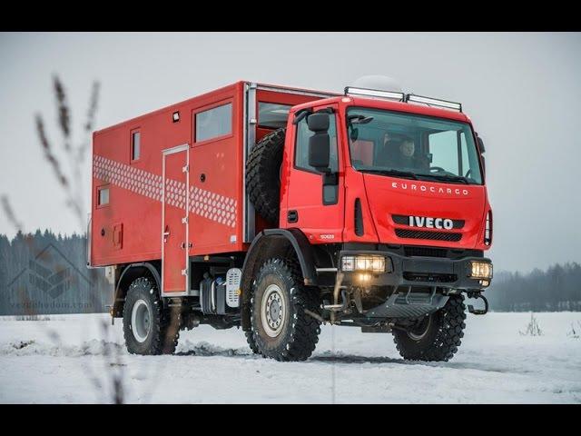 Вездеходный автодом IVECO EUROCARGO ML150E28W 4х4.