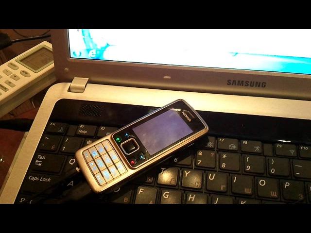 Прошивка телефона Nokia