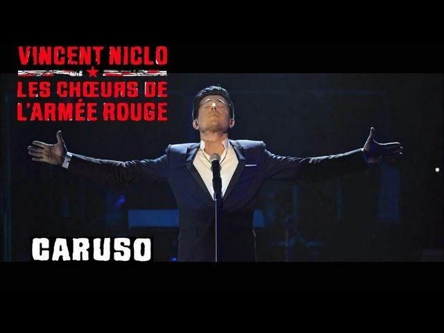 CARUSO | VINCENT NICLO LES CHOEURS DE L'ARMEE ROUGE (clip officiel)