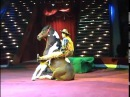 Comic Cowboy Horse Moscow Circus Цирковой номер Комический Ковбой Якубовские