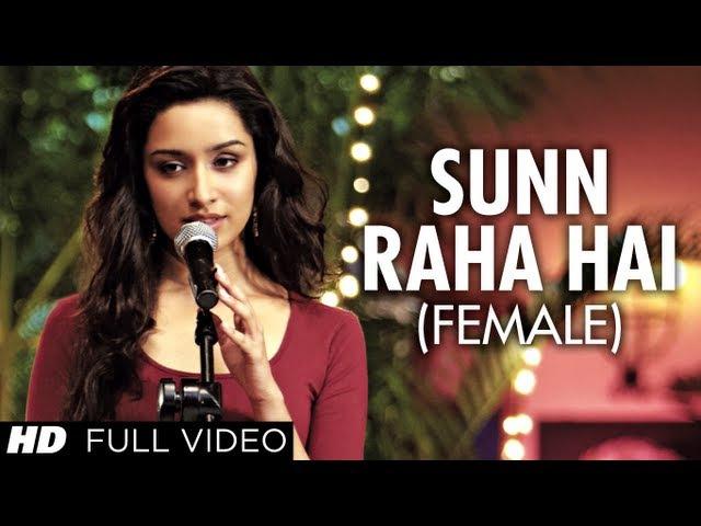 Sun Raha Hai Na Tu Female Version By Shreya Ghoshal Aashiqui 2 Full Video Song |