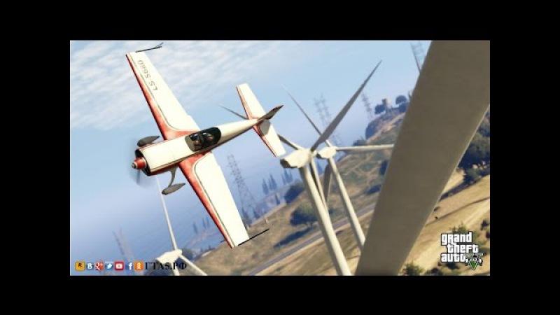 GTA 5 - ГТА5.РФ Feather II трюки на самолетах в Grand Theft Auto V Online.