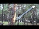 Якутский нож Батыйя и нож и копье и мачете Тесты