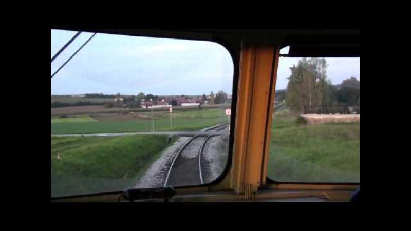 Führerstandsmitfahrt Lokalbahn Retz Drosendorf Reblaus Express