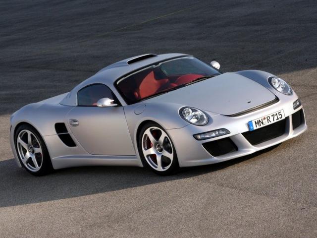 Porsche RUF CTR 3 - единственный в своём роде спорткар