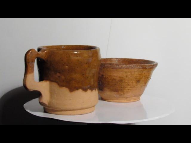 Мой метод глазурование керамики My method of glazing pottery