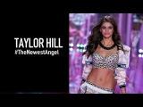 TAYLOR HILL Backstage - Meet Victoria's Secret Newest Angel  MODTV