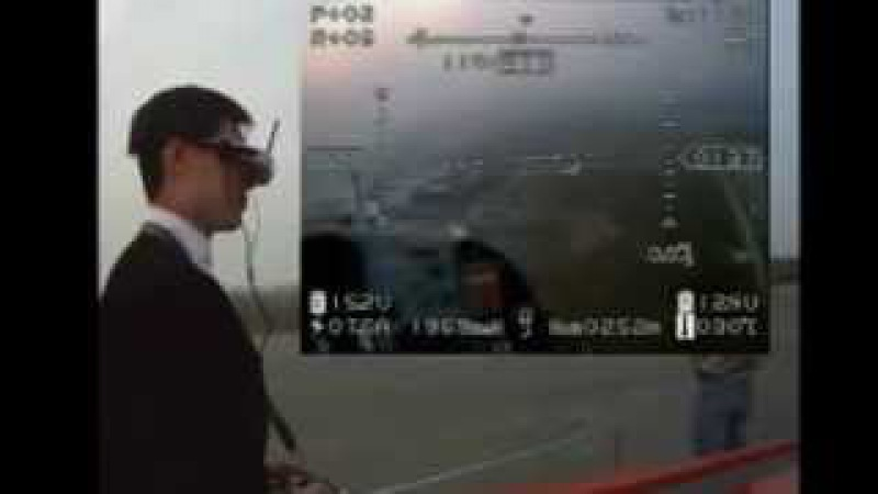 DSLRPros.com - BosCam FPV Goggle demonstration