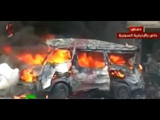 ИГ взяло на себя ответственность за двойной теракт в Хомсе