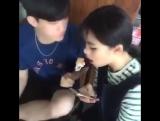 Cute korean couple