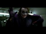 Эпизод из фильма Тёмный рыцарь Джокер приходит на сходняк к мафии