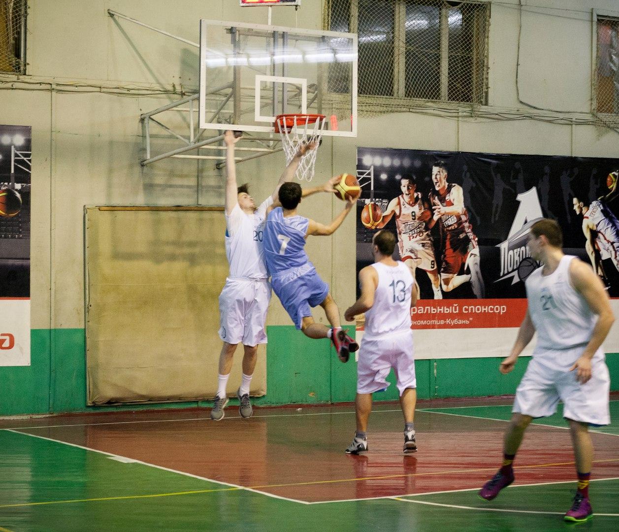Лига КАУБ 5х5 по баскетболу в Краснодаре