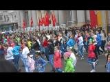 детский флешмоб ко дню победы. г. Макеевка 2015