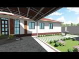 Жеке тұрғын үй экстерьер, ландшафт дизайны. Дизайн экстерьера и ландшафта индивидуального жилого дома.