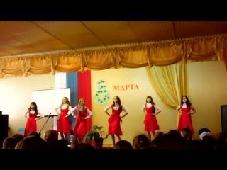 русско- народный  танец на 8 марта