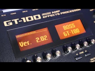 How To Update Your BOSS GT-100 to Version 2.0