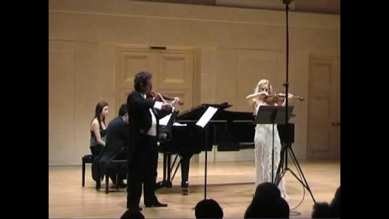 Serenade für zwei Violinen und Pianoforte op. 92 Christian Sinding 1.